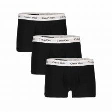 Calvin Klein 3 pack Low Waist Boxers Zwart