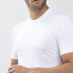 Mey Dry Cotton T-Shirt Ronde Hals Hoge Boord