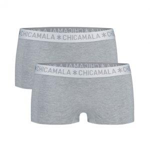 Chicamala 2-pack Damesshort Grey