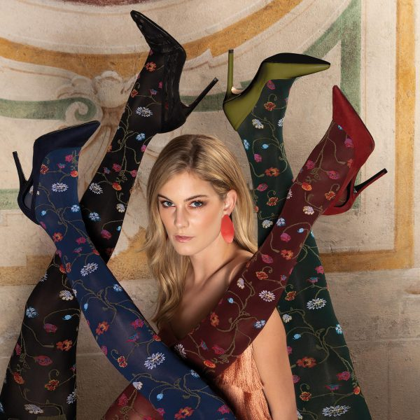 Trasparenze fashionpanty Platino | Sven & Sophie