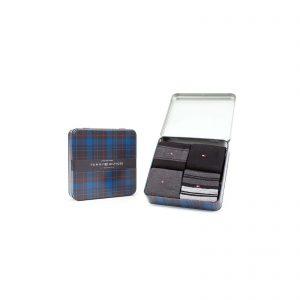 Giftbox Tommy Hilfiger 4-pack zwart