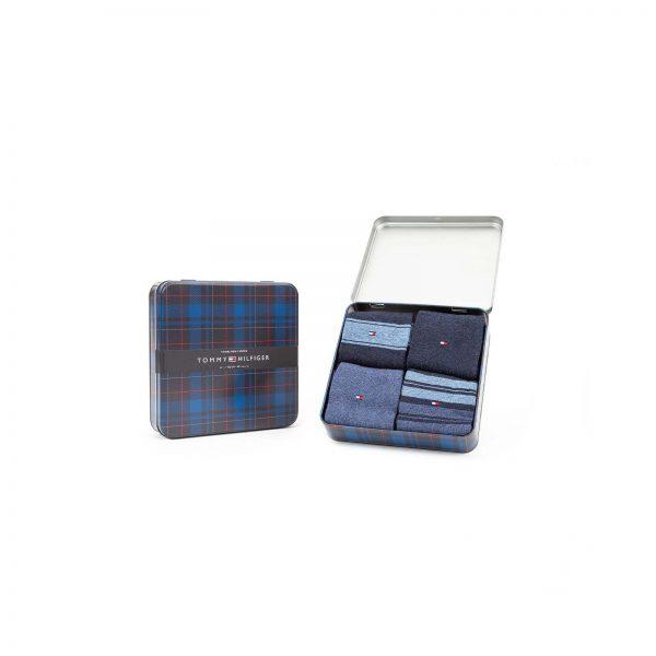 Giftbox Tommy Hilfiger 4-pack Denim