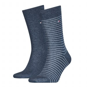 Tommy Hilfiger Small Stripe Sock 2 pack