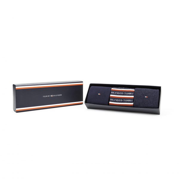 Giftbox Tommy Hilfiger 3-pack Blauw