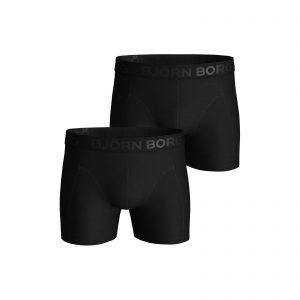 Bjorn Borg 2-pack Short Zwart