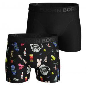 Bjorn Borg 2-pack short katoen 2031-1353