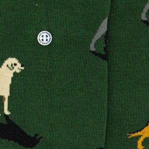 Alfredo Gonzales Sok Dog green