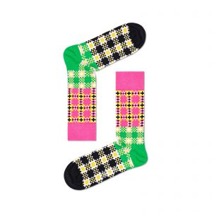 Happy Socks Tartan Square Sock