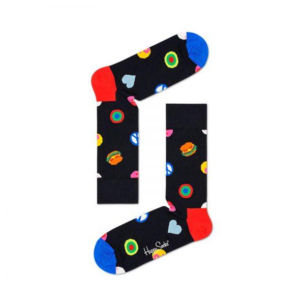 Happy Socks Symbol Dot Sock