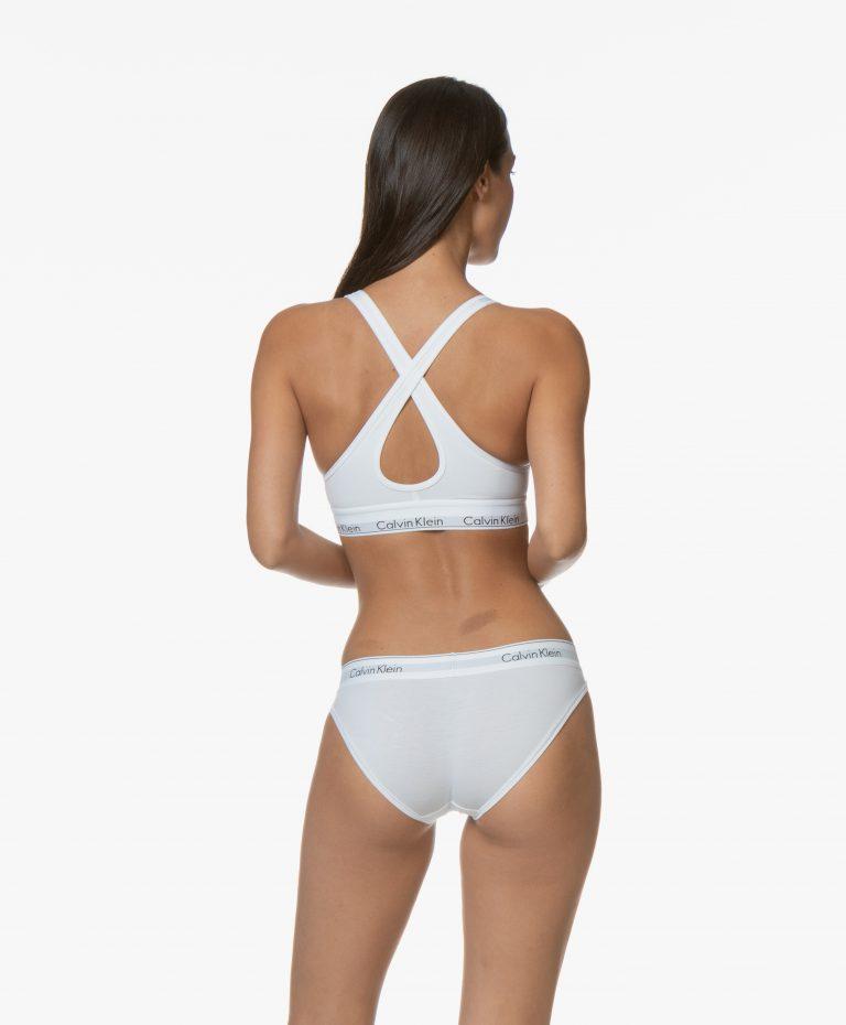 Calvin Klein Bralette Modern Cotton Wit