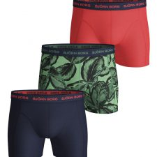 Bjorn Borg essentials 3-pack shorts Leafy