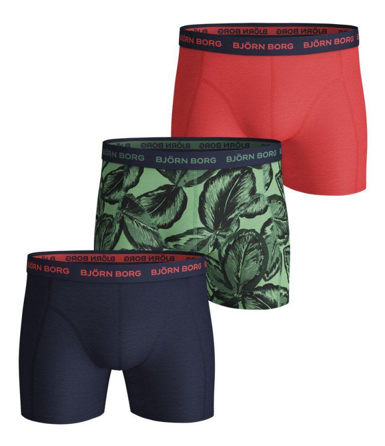 Bjorn Borg essentials 3-pack shorts Leafy