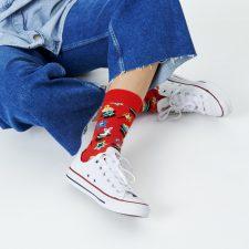 Happy Socks Magic rood