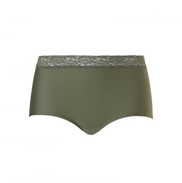 Ten Cate Secrets High Waist Lace Up Ash Green