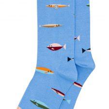 Alfredo Gonzales Sok Fish lichtblauw